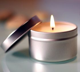 1 oz Tin Candle
